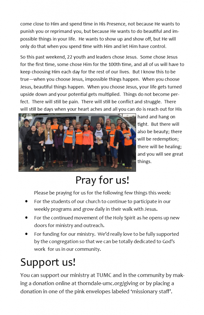 Missionary Staff Newsletter 01-17-16 pg 2